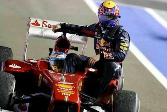 Fernando Alonso e Mark Webber