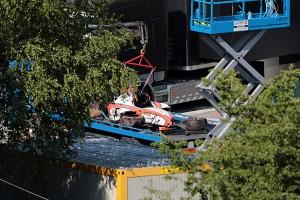 GP2 – Daniel de Jong quebrou vértebra em acidente em Spa