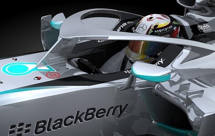 Proposta da Mercedes para proteção ao piloto