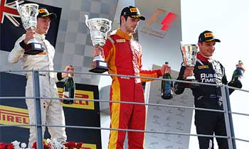 GP2 – Rossi derrota Vandoorne e vence em Monza