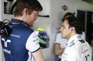 Rob Smedley e Felipe Massa