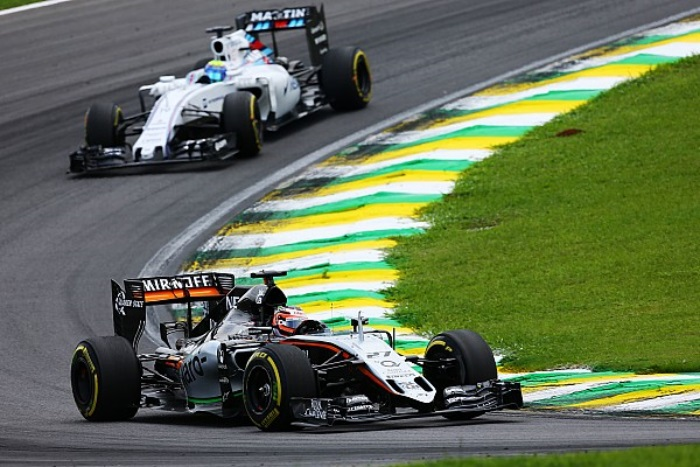 Force India e Williams