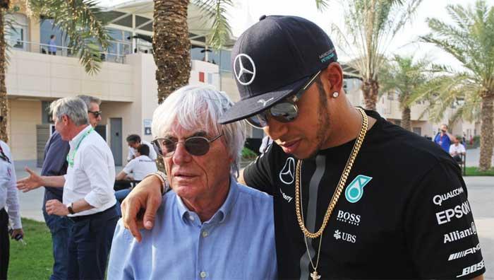 """Hamilton: Ecclestone não deveria chamar a F1 de """"tediosa"""""""