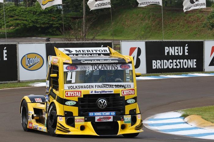 Londrina: Felipe Giaffone faz sua sexta pole na Fórmula Truck