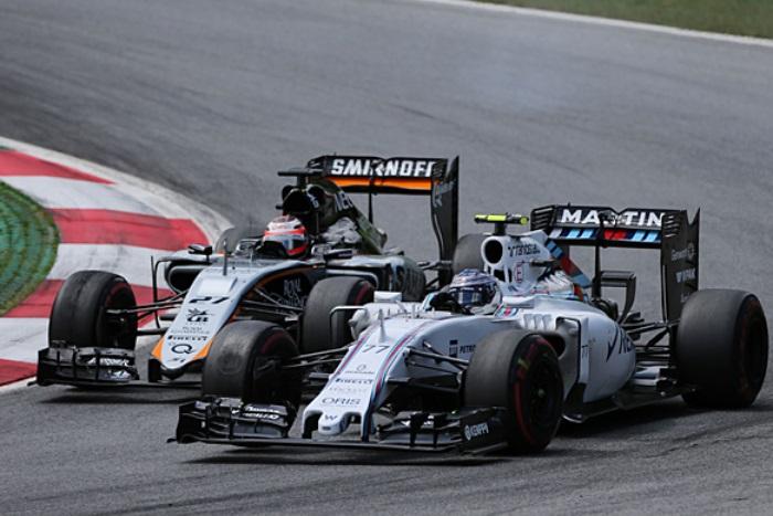 Williams e Force India