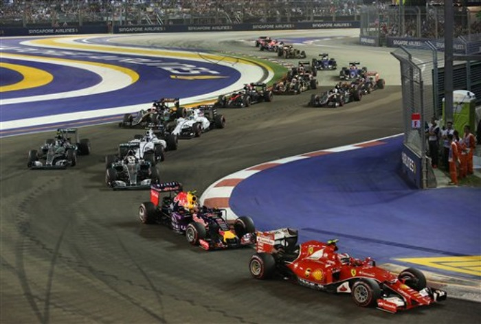 GP de Cingapura 2015