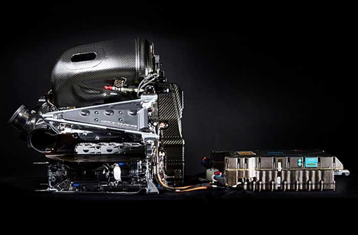 Unidade de potência da Mercedes