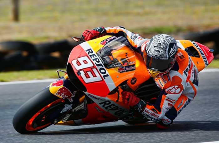 MotoGP – Márquez vence corrida encurtada e cheia de quedas na ...