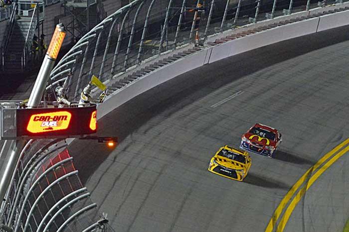 Chegada do segundo Duelo em Daytona