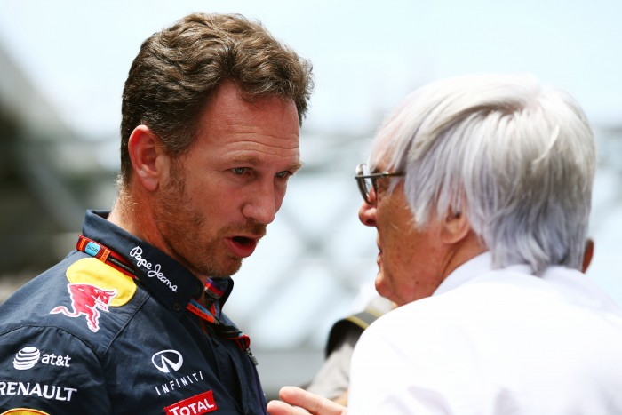 Christian Horner e Bernie Ecclestone