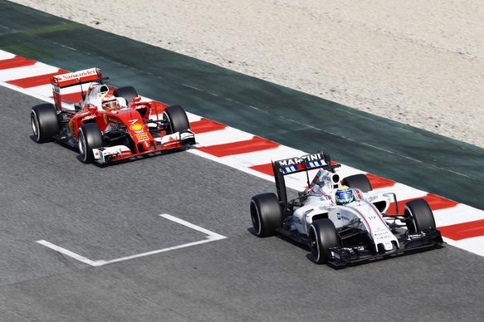 Felipe Massa e Kimi Raikkonen
