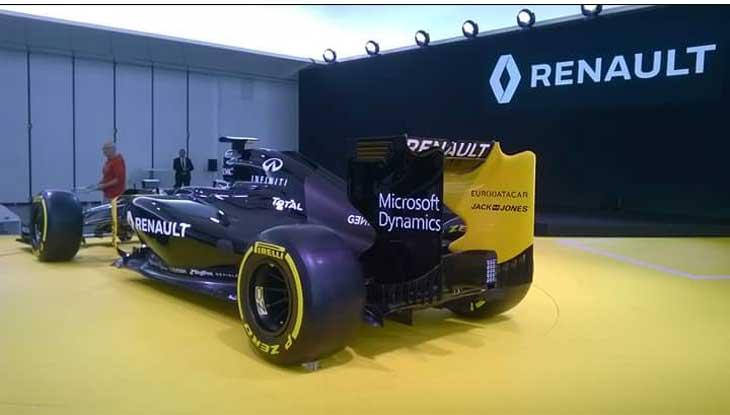 F1 – Renault espera ganhar muita potência em 2016