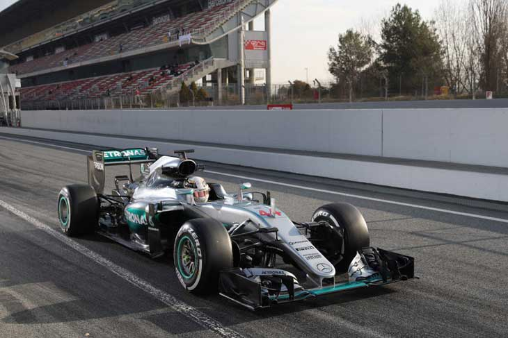 Lewis Hamilton - Barcelona 2016