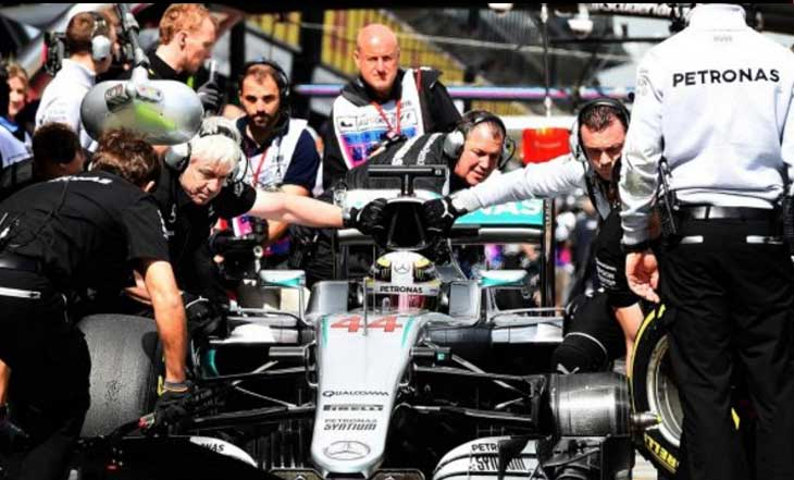 Lewis Hamilton - pole Austrália 2016