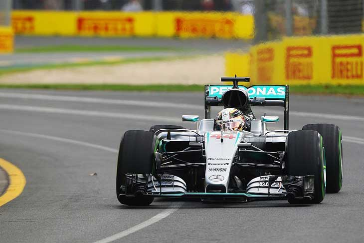 Lewis Hamilton - Melbourne 2016