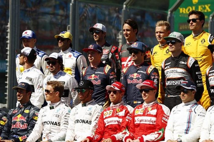 Pilotos da Formula 1 2016