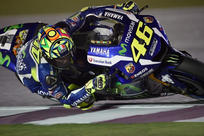 MotoGP – Valentino Rossi domina e vence primeira do ano em Jerez