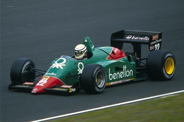 Alfa Romeo 185T de 1985, último ano na F1