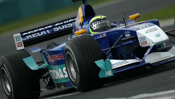 Felipe Massa no Sauber C21 em 2002