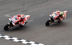 Andrea Dovizioso e Andrea Iannone
