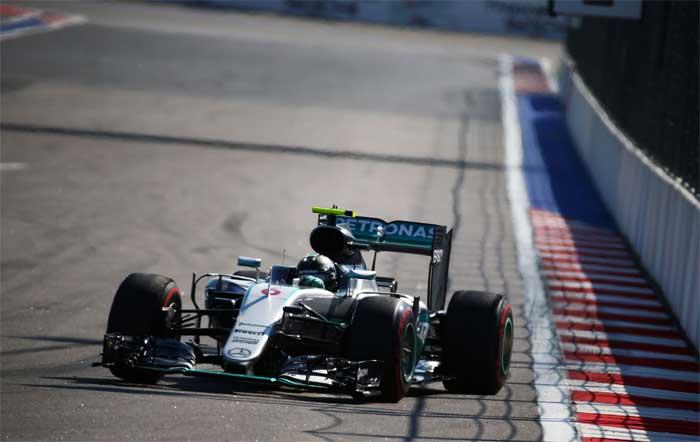 F1 – Rosberg vence pela sétima vez consecutiva na Rússia