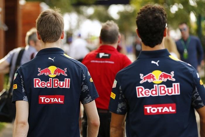 Daniil Kvyat e Daniel Ricciardo
