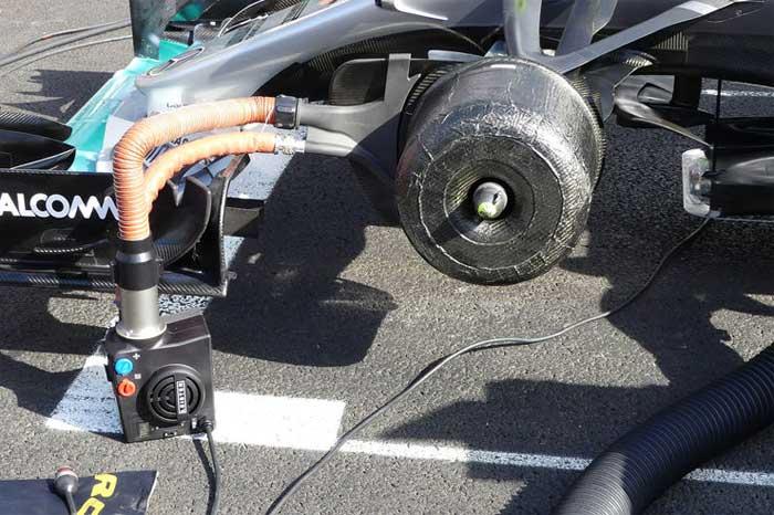 Dispositivo da Mercedes