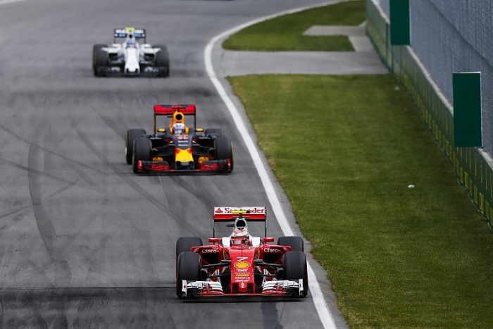 Ferrari, Red Bull e Williams