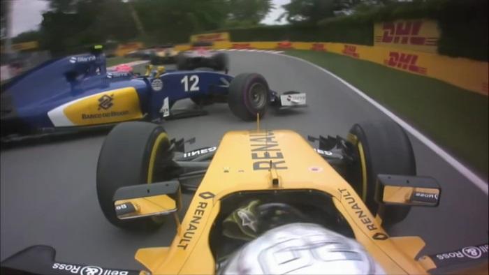 Kevin Magnussen e Felipe Nasr