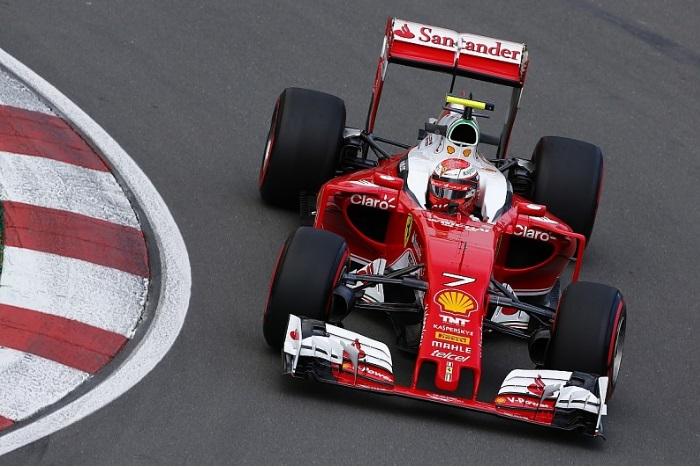 F1 – Kimi Raikkonen fecha treinos livres na frente na Bélgica