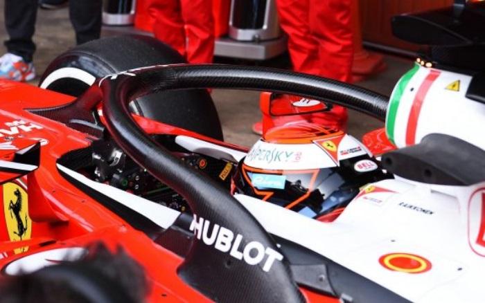 Halo da Ferrari
