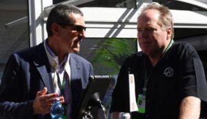 Guenther Steiner e Gene Haas