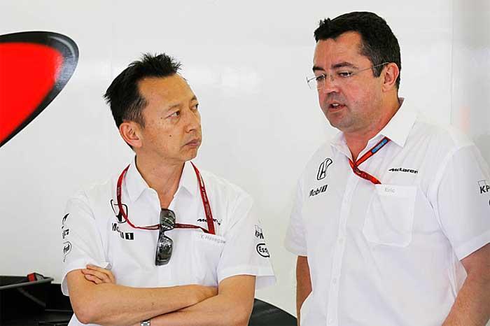 Yusuke Hasegawa e Eric Boullier