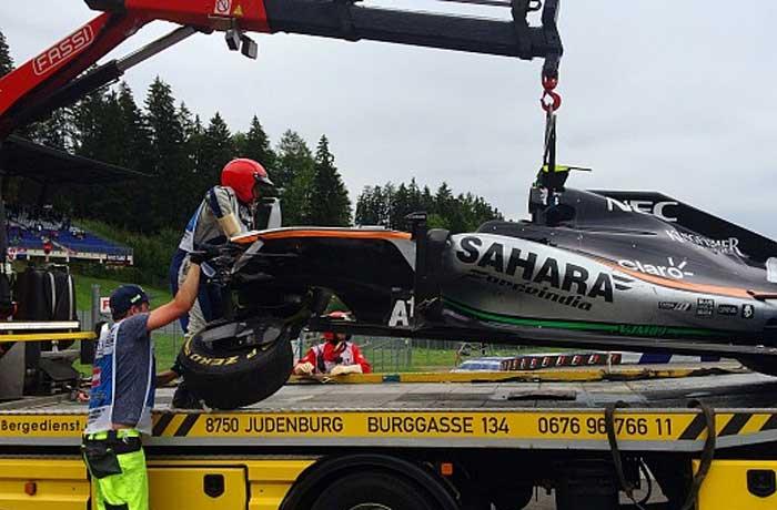 Carro de Sergio Perez