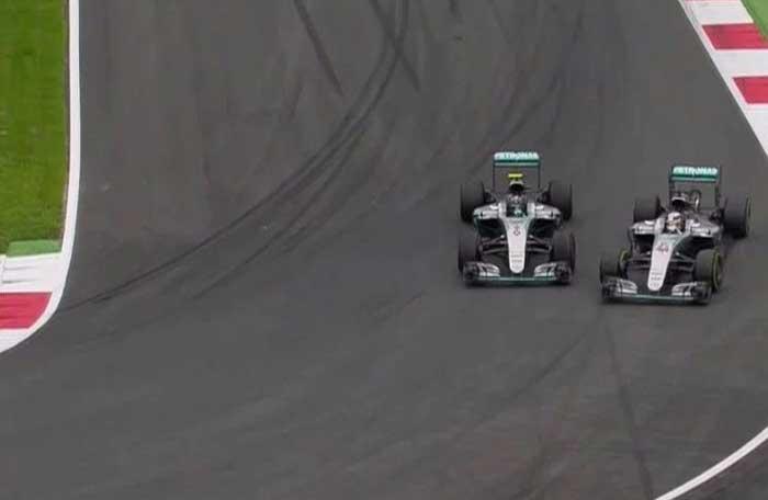 F1 – Hamilton pede para a Mercedes não impor ordens de equipe