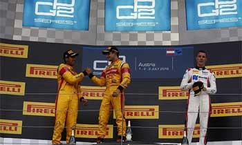 GP2 – Evans vence corrida caótica no Red Bull Ring