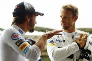 Fernando Alonso e Jenson Button