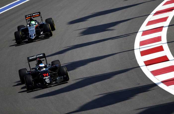 McLaren-Honda e Force India