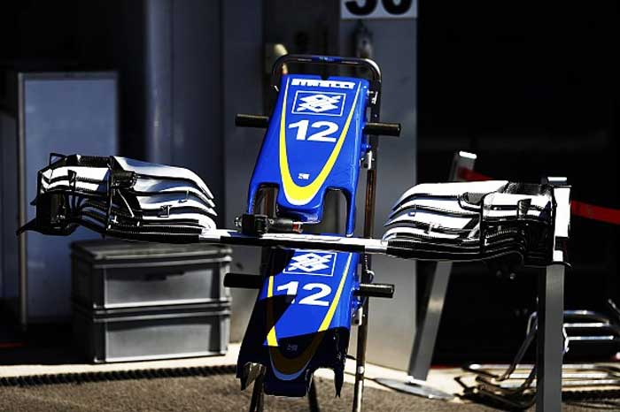 Novo bico da Sauber