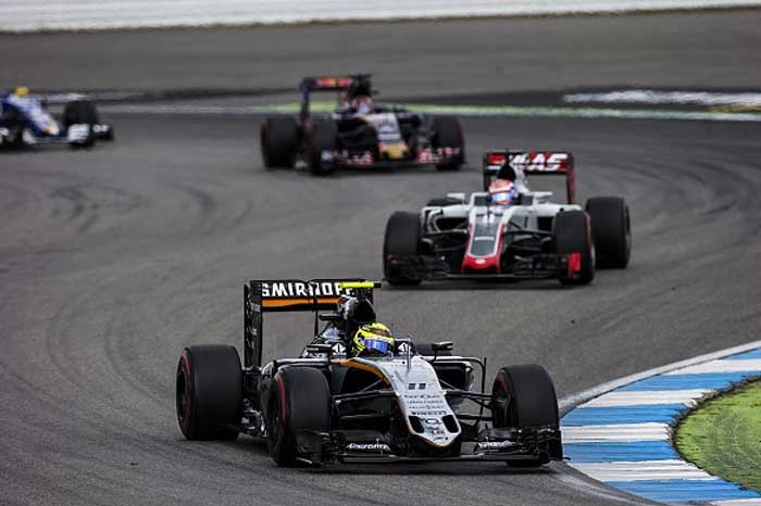Force India, Haas e Toro Rosso