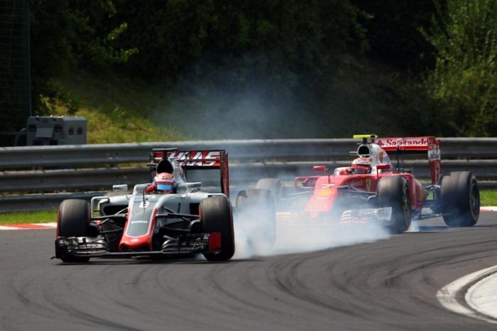 Romain Grosjean e Kimi Raikkonen