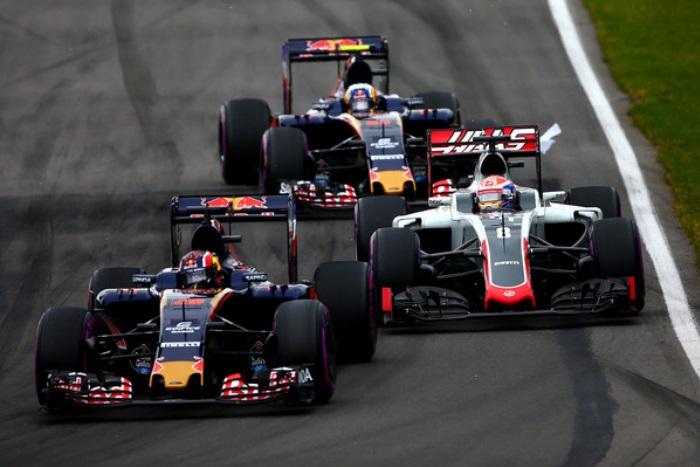 Haas e Toro Rosso