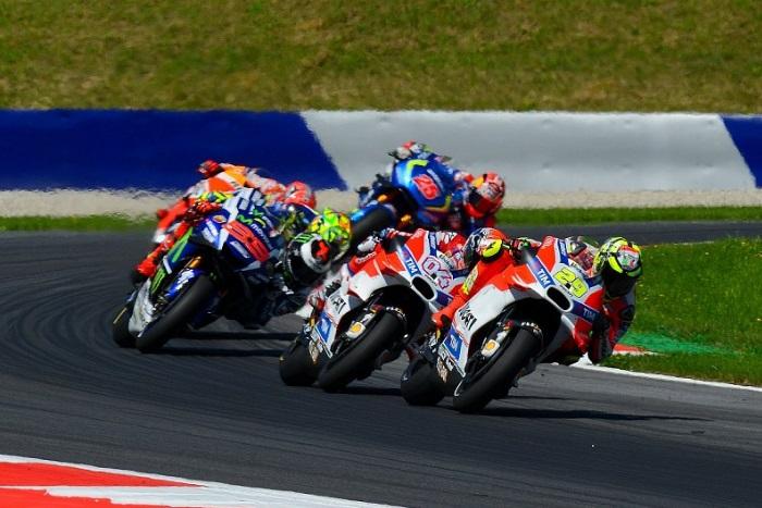 Ducati lidera o pelotão