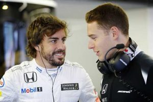 Fernando Alonso e Stoffel Vandoorne