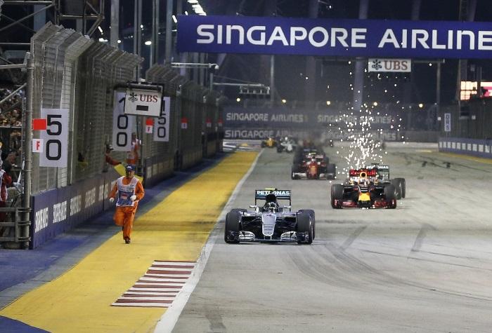 Relargada do GP de Cingapura