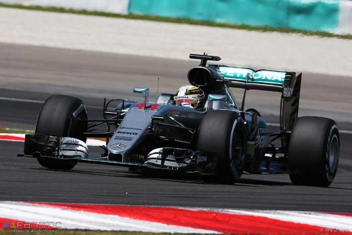 Lewis Hamilton - Malásia 2016