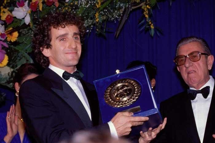 Alain Prost com Balestre