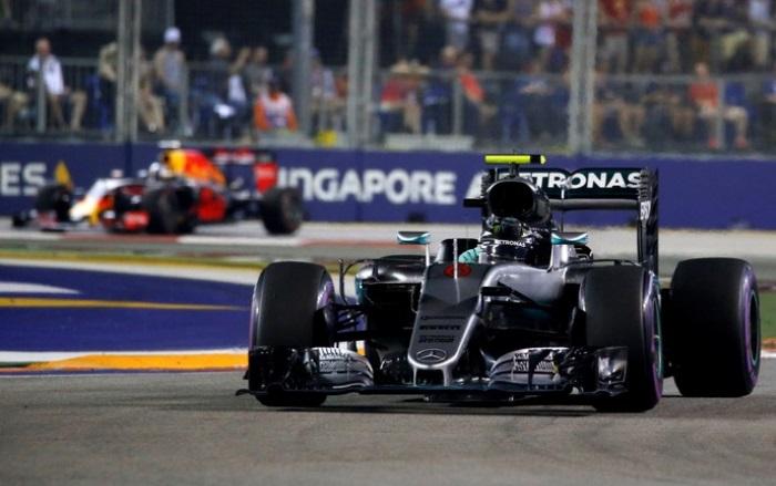 Nico Rosberg e Daniel Ricciardo