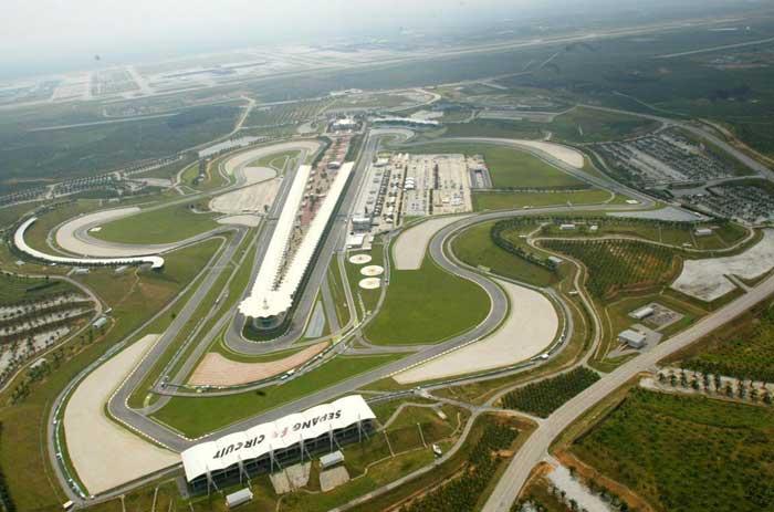 Circuito de Sepang - Malásia