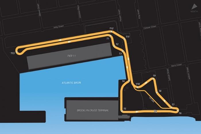 Circuito da Fórmula E em Nova York